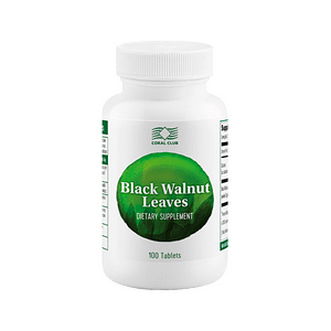 black walnut leaves coral club dietary supplement