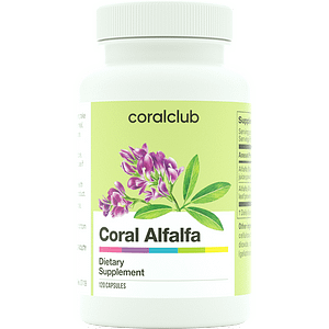 Coral Alfalfa Coral Club - is a dietary supplement based on natural ingredients.