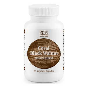 coral black walnut dietary supplement
