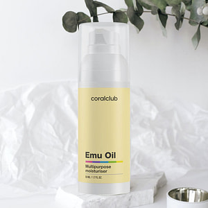 Emu Oil with Rosemary and Vitamin ECoral Club